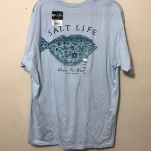 Men's salt life shirt